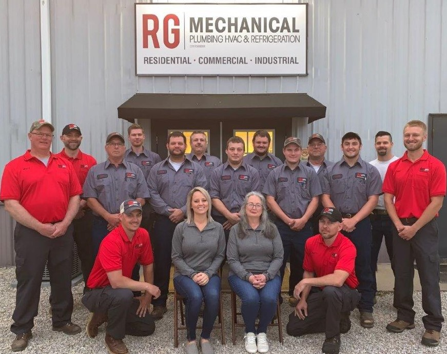 RG Mechanical is a plumbing and HVAC contractor that services the Huntingburg, IN area.